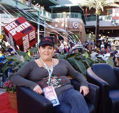 I LOVE MY JOB! Super Bowl in Tampa baby!