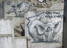 Two Elephant