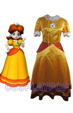 All Daisy costumes! (Including her old design) | Super Mario ...