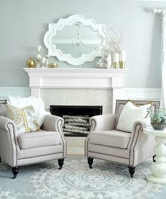 Great Ideas For Decorating a Summer Mantel