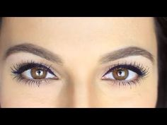 Winged liquid liner and mascara #howto from Miss Maven and Eyeko