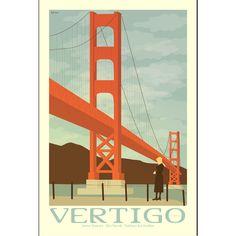 Movie poster Vertigo by Claudia Varosio