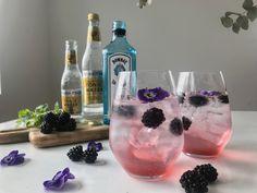 Opskrift: Gin & Tonic med brombær og brombærsirup - Perfekte til sommer