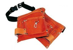 Tool Belts - Sale for children . 2 Pouches, real leather.
