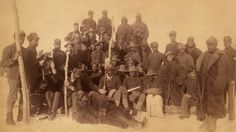 Buffalo soldiers of the Infantry, African American historical photograph, Civil War era, c American Soldiers, American Civil War, American Indians, American History, American Bison, American Veterans, American Life, Cebu, Honduras