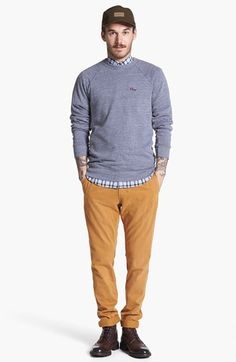 Obey Sweatshirt, 7 Diamonds Shirt & Dockers® Chinos  available at #Nordstrom