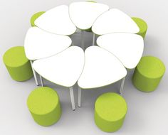Our Collaboration Tables Can Be Used As Both Standalone Items Of Furniture Or Combined To Form One Large Group Table They Are Covered In A White Writable