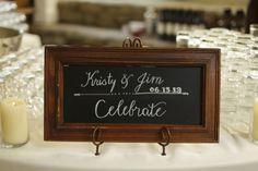 Welcome Sign #cedarwoodweddings Classic Garden Wedding at Historic Cedarwood | Cedarwood Weddings