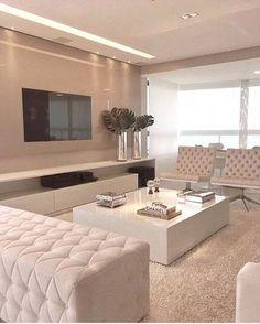 Clean... Aconchegante... e Elegante , esse ambiente By @rejanedubeuxarquitetura…