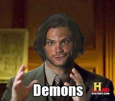 Sam - Demons/Ancient Aliens meme