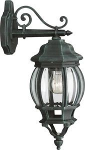 Massive Dubrovnik Aluminium Wall Lantern Outdoor Garden Light 1503114510