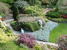 The Butchard Gardens, Victoria Island, BC