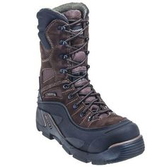 Rocky Boots Men's Brown 7465 Insulated Steel Toe BlizzardStalker PRO Boots