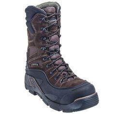 Rocky Boots Men's Brown 7465 Insulated Steel Toe BlizzardStalker PRO B