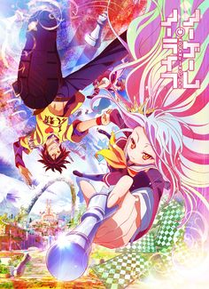 Looking for information on the anime No Game No Life Specials? Find out more with MyAnimeList, the world's most active online anime and manga community and database. Otaku Anime, Manga Anime, Sci Fi Anime, Shiro, I Love Anime, Awesome Anime, Vocaloid, Nogame No Life, Real Life