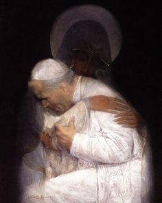 Litany Of Divine Mercy, Divine Mercy Prayer, Catholic Religion, Catholic Art, Catholic Saints, Roman Catholic, Religious Paintings, Religious Art, Papa Juan Pablo Ii