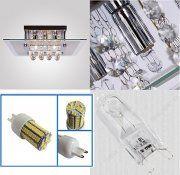 G9 (GU9) mit 6,5W LEDs Hell/ Warm Weiss (5 Stück) Led Lampe, Bathroom Medicine Cabinet, All In One, Cufflinks, Accessories, Jewelry, Warm, Jewlery, Bijoux