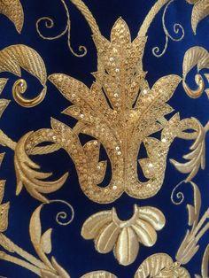 Taller de bordado Sebastián Marchante: Saya Virgen mayor dolor ,(Marbella)