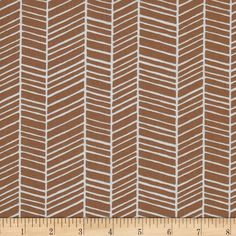 Joel Dewberry True Colors Herringbone Maple from @fabricdotcom  Designed by Joel Dewberry for Free Spirit, this cotton print fabric is perfect for quilting, apparel, crafts, and home decor items.