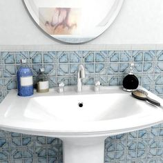 This versatile mosaic floor tile is suitable for multiple uses, including on walls, backsplashes and floors with light foot traffic. The tiles' impervious water absorption also makes them a great opti