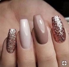 70 striking and fashionable acrylic nails, matt nails, sequin glitter nails - Oriel D. - 70 eye-catching and fashionable acrylic nails, matt nails, sequin glitter nails – # Acrylic Nails - Pretty Nail Designs, Nail Art Designs, Nails Design, Glitter Nail Designs, Acrylic Nail Designs Classy, New Years Nail Designs, New Year's Nails, Fun Nails, Nails For New Years