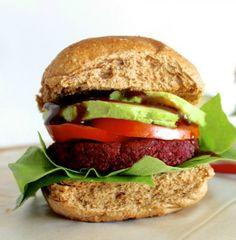 Beet Veggie Burgers - AKA The best Veggie Burger I have ever tasted!