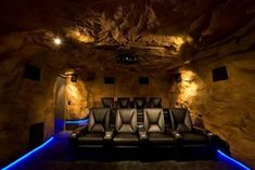 A real man cave