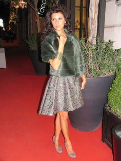 Baroque style... #ootd #green #fashion #blogger #lasciarpaviola