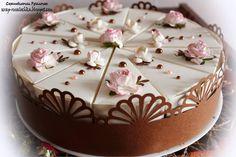 Скраподелочки Русалочки: Шоколадно-сливочный торт Cake, Desserts, Blog, Scrapbooking, Surprise Cake, Paper, Pies, Tailgate Desserts, Deserts