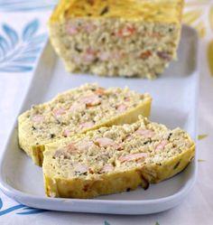 Photo de la recette : Terrine de poisson blanc aux crevettes