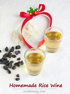Rice wine recipe, how to make rice wine at home in about a month. #wine #ricewine