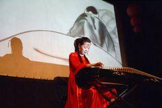 Koncert Duan Xiaoli wykonany na chińskiej cytrze guzheng. Fot. A. Rogowska — w miejscu: Centrum Kultury Zamek we Wrocławiu