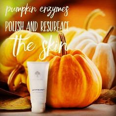 Did you know pumpkin enzymes polish and resurface the skin? Now THIS is what pumpkins are for! The pumpkin enzymes in Polishing Peel will give you a fresh complexion. Organic Skin Care, Natural Skin Care, What Pumpkin, Beauty Products That Work, Skin Products, Spa Prices, Skin Polish, Bentonite Clay, Love Your Skin