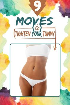 9 Moves To Tighten Your Tummy | Your Health Matters For Us