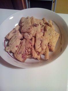 biscotti salati con grana e pancetta
