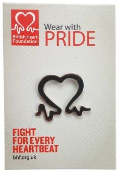British Heart Foundation Pulse Line Pin Badge Charity Wedding Favors, Affordable Wedding Favours, Wedding Favors Cheap, Budget Wedding, Wedding Ideas, Heart Foundation Diet, Heart Valves, Pin Badges, Fundraising