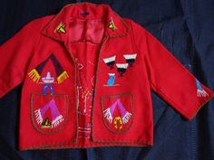 1940's Vintage child's Mexican jacket. by vintagewayoflife on Etsy, $65.00