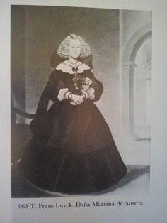 T. Frans Luyck; Doña Mariana de Austria, futura reina de España.