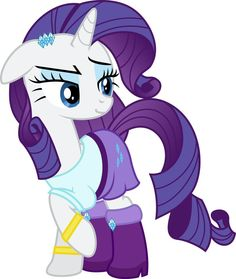Rarity in her Equestria Girls outfit <3 (beautiful)