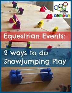 Creative Playhouse: Olympics - Show Jumping Play
