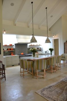 Melrose Home Tour - Featuring Cemcrete cement-based finishes Country Chic, Cement, House Tours, Floors, Beach House, House Ideas, Decorating Ideas, Home And Garden, Walls