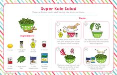 Super Kale Salad – Raddish Kids
