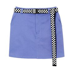 LUDIC SKIRT ❤ liked on Polyvore featuring skirts, bottoms, blue skirt, puffy skirts and puff skirt