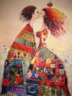 Canan Berber and pomegranates, women with pomegranates, canan … - Art Painting Paintings I Love, Colorful Paintings, Surrealism Painting, Turkish Art, Naive Art, Whimsical Art, All Art, Female Art, Collage Art