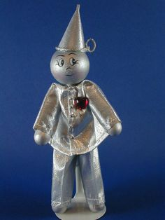 Tin Man of Oz Clothespin Doll.