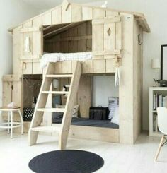 """Visit our site for additional details on """"bunk beds for kids room"""". It is actually an excellent spot to learn more. Toddler Bunk Beds, Kid Beds, Boy Room, Kids Room, Childrens Beds, Outdoor Kitchen Design, Loft Spaces, Dream Rooms, Girls Bedroom"""