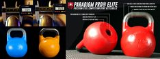 """Paradigm Pro® Elite Precision Competition Sport Kettlebells from Kettlebells USA® - The Original """"Hollow Core"""" Competition Kettlebell introduced in June, 2014. Available in 33mm & 35mm Handle Diameters - Free Shipping #kettlebellsport #competitionkettlebells #girevoysport #kettlebell #kettlebells #strength #strenghtandconditioning #kettlebellsnatch #kettlebellswings #functionalfitness #kettlebellsusa #paradigmproelite"""