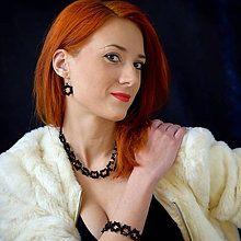 Sady šperkov - Čierna krása - 6344416_ Sad, Jewellery, Jewelery, Jewlery