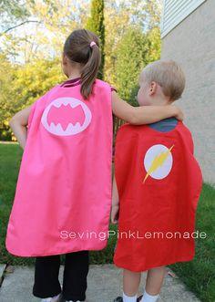ATELIER CHERRY: Capas de super-heróis