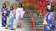 The Comfy KIMONO Pajamas - To all kimono lovers around the world: A revolutionary Japanese kimono as comfortable as your favorite pajamas that is easily wearable in three simple steps.https://miraimode.com/projects/comfy_KIMONO_pajamas
